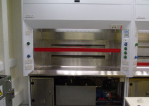 Scrubbed Fume Cupboards