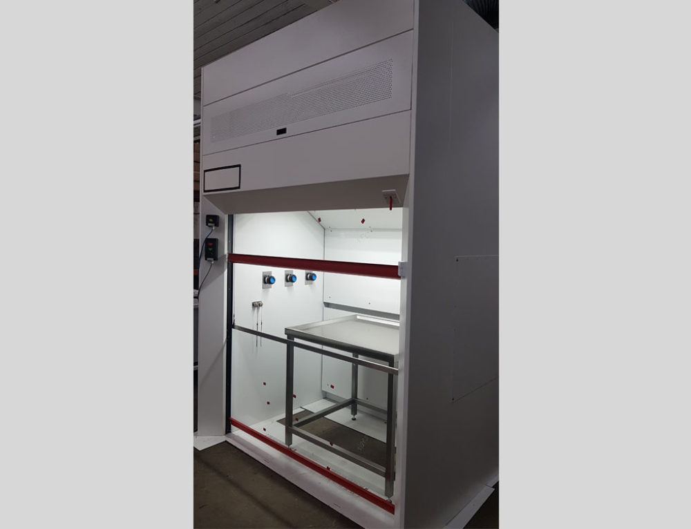 F.A.T. of Atex Rated Fume Cupboard